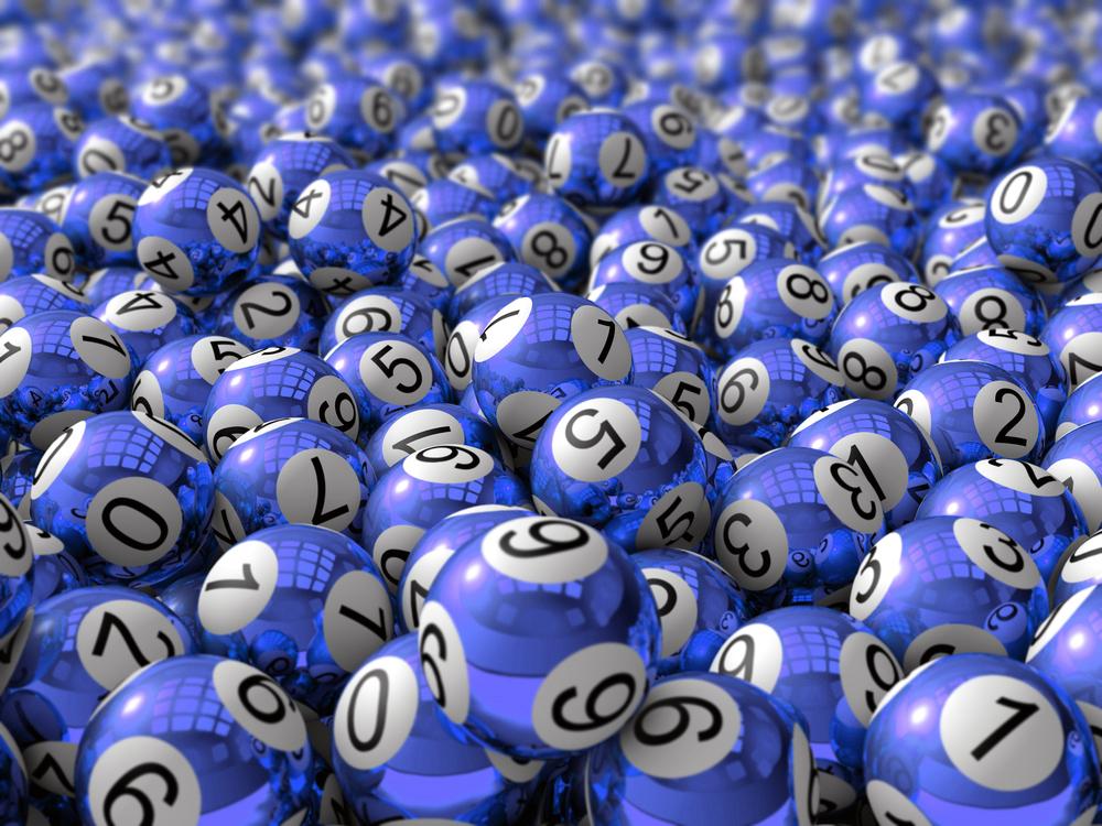 Random jackpot numbers